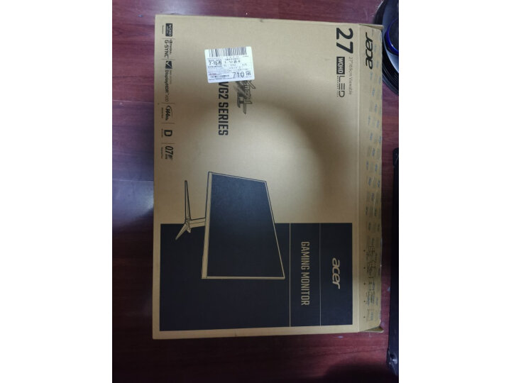 宏碁(Acer) 暗影骑士27英寸Nano IPS屏显示器畅玩吃鸡VG272U P怎么样?上档次吗,亲身体验诉说感受-艾德百科网