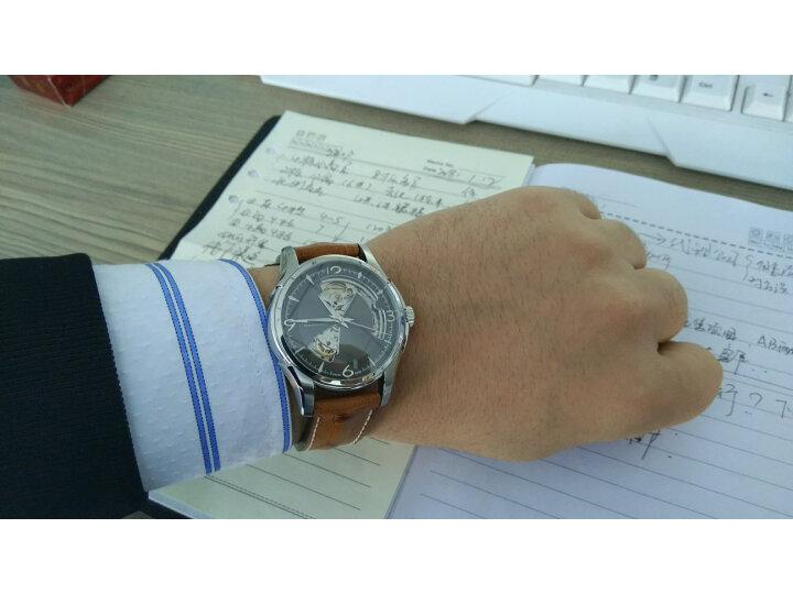 评测:汉米尔顿 瑞士手表爵士系列全镂空自动机械男士腕表H42505510好吗?质量曝光不足点有哪些? 评测 第4张