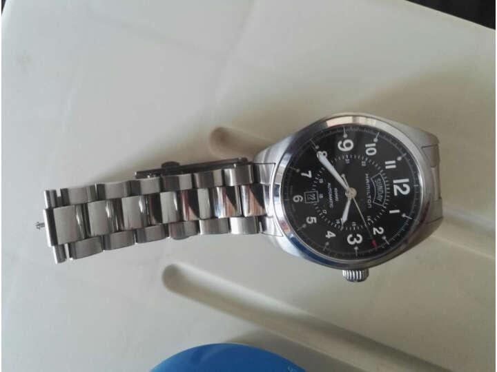 【同款测评分享】汉米尔顿(HAMILTON)瑞士手表卡其野战系列H70505133怎么样_质量性能评测,内幕详解 好货爆料 第10张