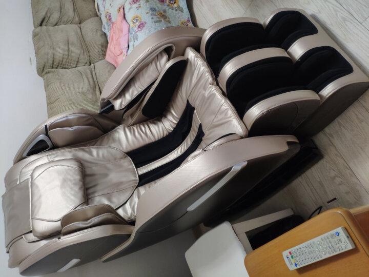 荣耀(ROVOS)R780TV杏棕色按摩椅家用测评曝光?老婆一个月使用感受详解 艾德评测 第10张