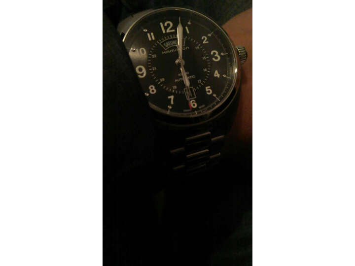 【同款测评分享】汉米尔顿(HAMILTON)瑞士手表卡其野战系列H70505133怎么样_质量性能评测,内幕详解 好货爆料 第9张