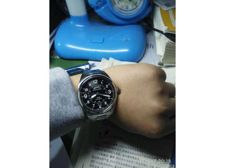 【同款测评分享】汉米尔顿(HAMILTON)瑞士手表卡其野战系列H70505133怎么样_质量性能评测,内幕详解 好货爆料 第7张