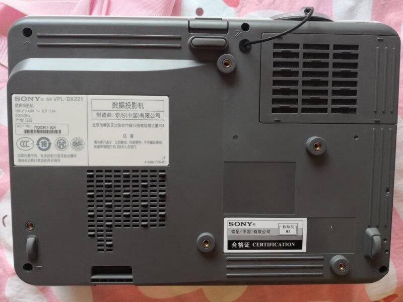 秘密!索尼VPL-DX221怎么样?是不是消费陷阱?