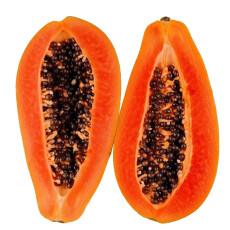 缤咕果园 海南红心木瓜4kg 约4-6个装