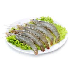 禧美(Seamix) 原装进口冷冻厄瓜多尔白虾 1.8kg 90-108只 盒装 火锅食材 海鲜水产