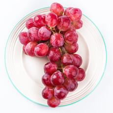 兴业源 新疆红提(提子) 净重约1kg 新鲜水果