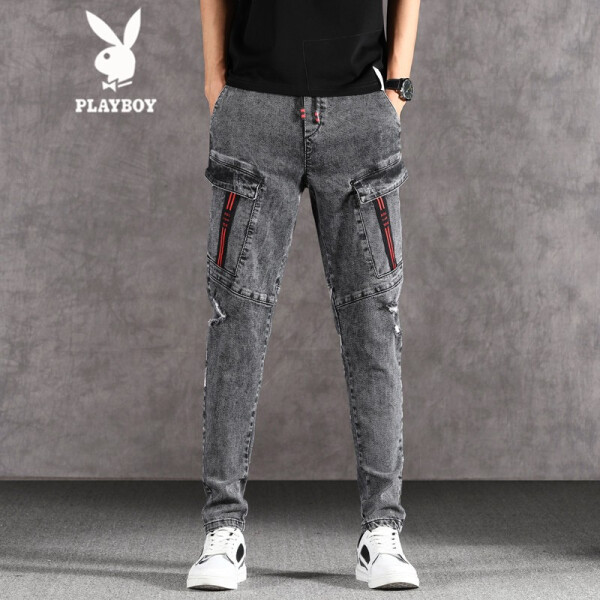 打造,时尚,潮男范,破洞,街头,牛仔裤