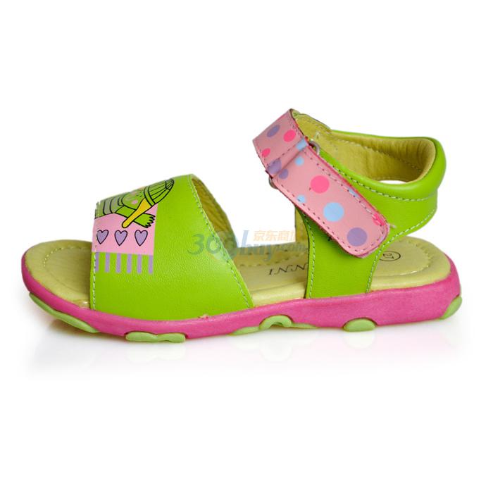 真皮凉鞋 女童鞋