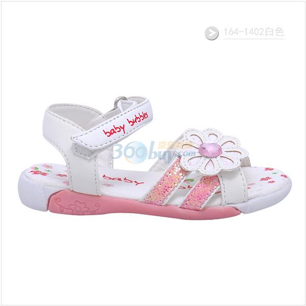 bata童鞋2011新款儿童宝宝凉鞋女童公主鞋164-1402