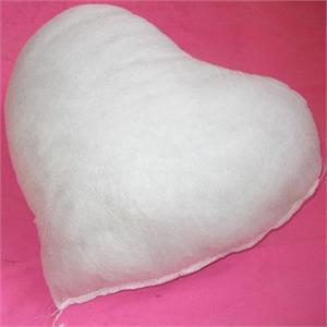华庭丽娜 十字绣桃心抱枕 心心相印 枕套 枕芯图片