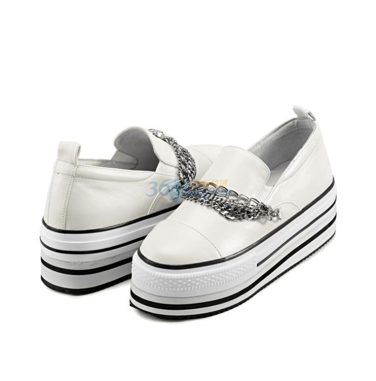 厚底低帮鞋休闲女鞋