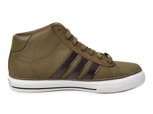 Adidas Style中性经典复古鞋U46085 SE Daily Vulc Mid C 44.5-Style中