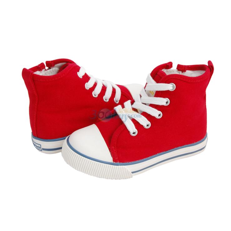 bruno布鲁诺童鞋儿童高帮帆布鞋dk028