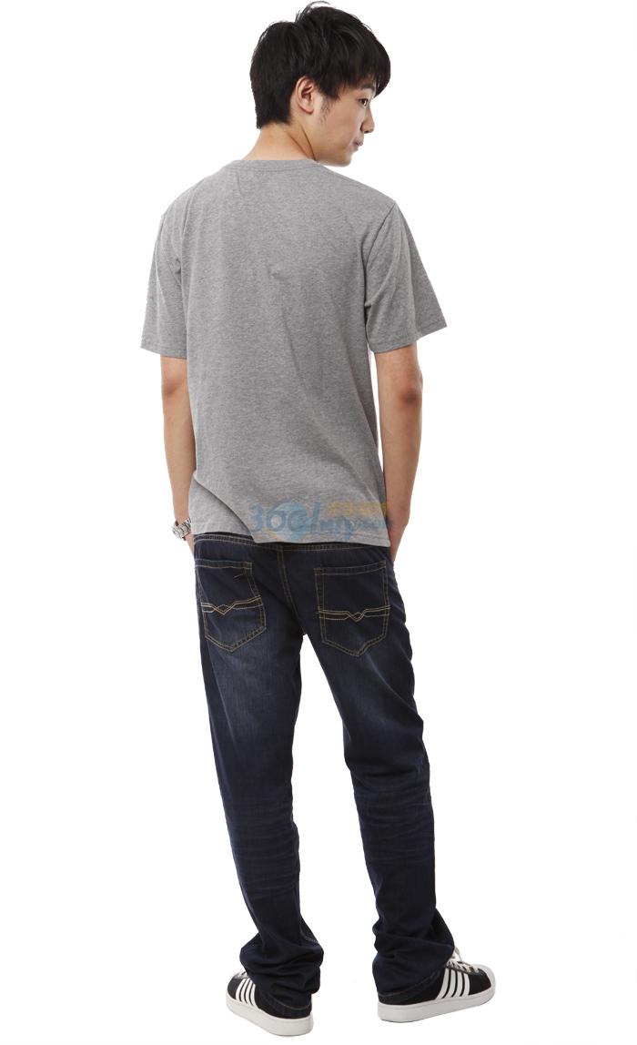 以纯t恤男装休闲圆领短袖针织   以纯t恤男装休闲圆领短袖...