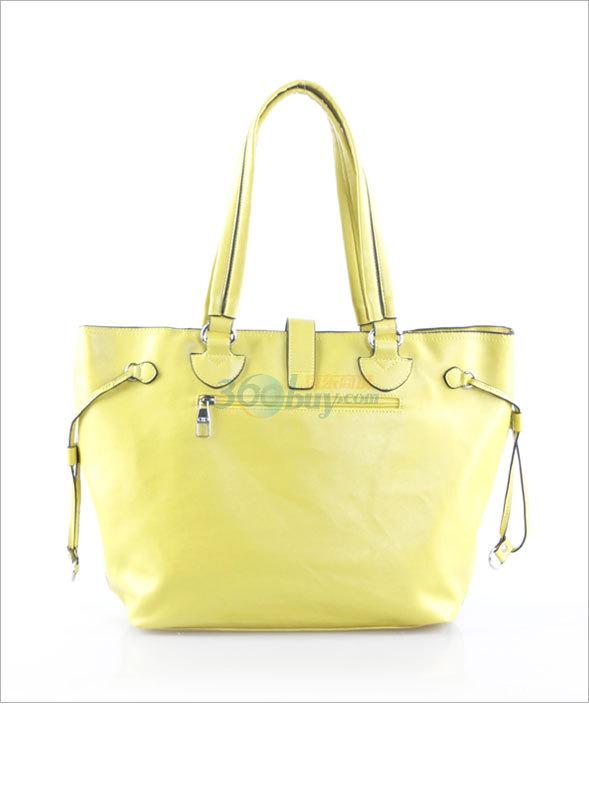 citylife城市生活黄色镂空肩挎女包包1106751图片