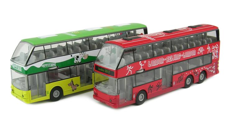 儿童玩具 豪华双层观光巴士