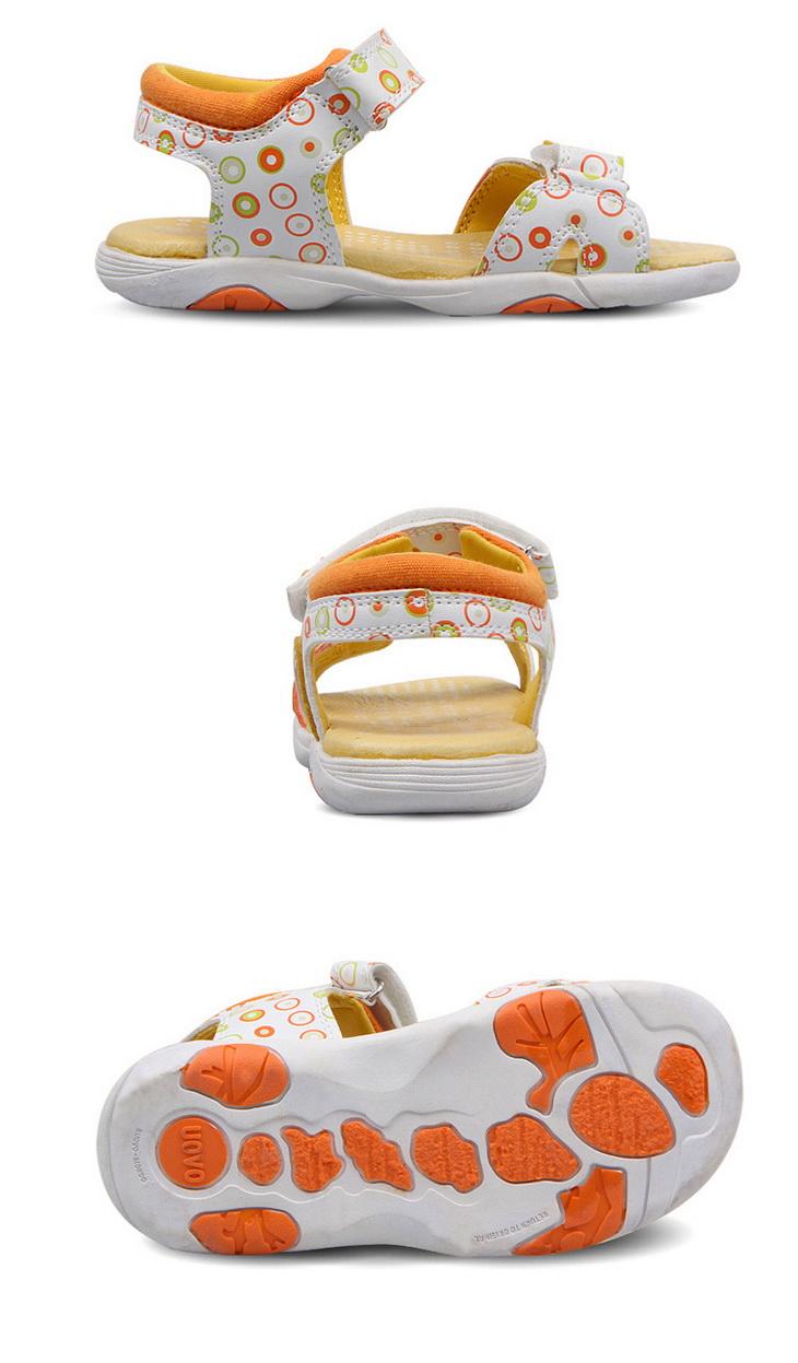 uovo童鞋男童鞋女童鞋休闲透气儿童凉鞋沙滩鞋