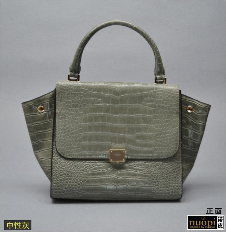 皮手提斜跨女士包包