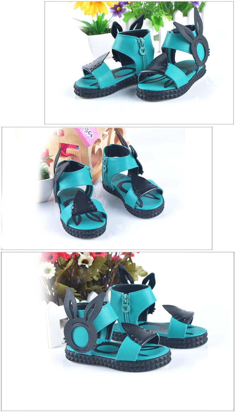 2-6岁夏季女童凉鞋