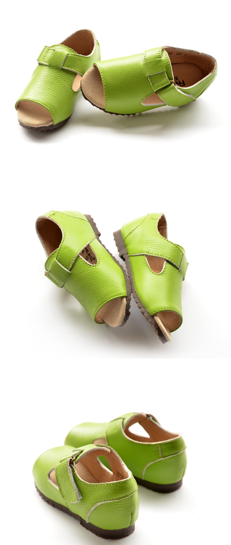 儿童露脚凉鞋童鞋男孩鞋