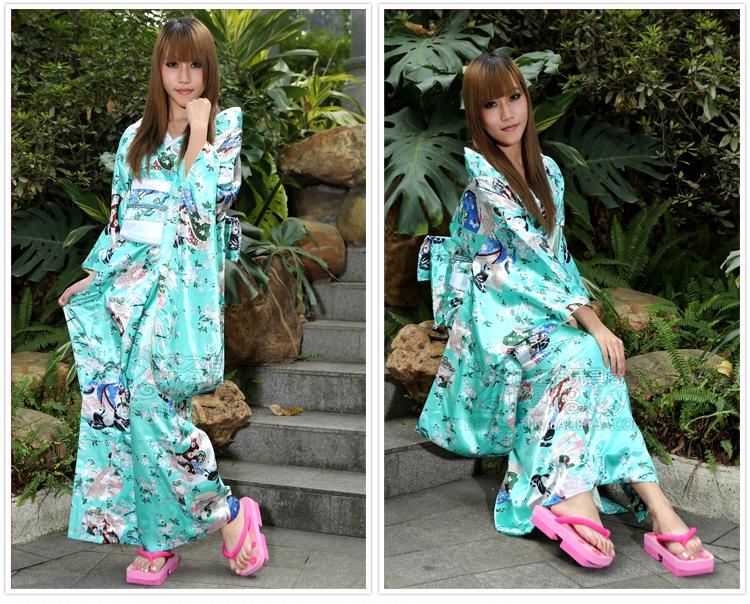时尚日本印花二齿木屐