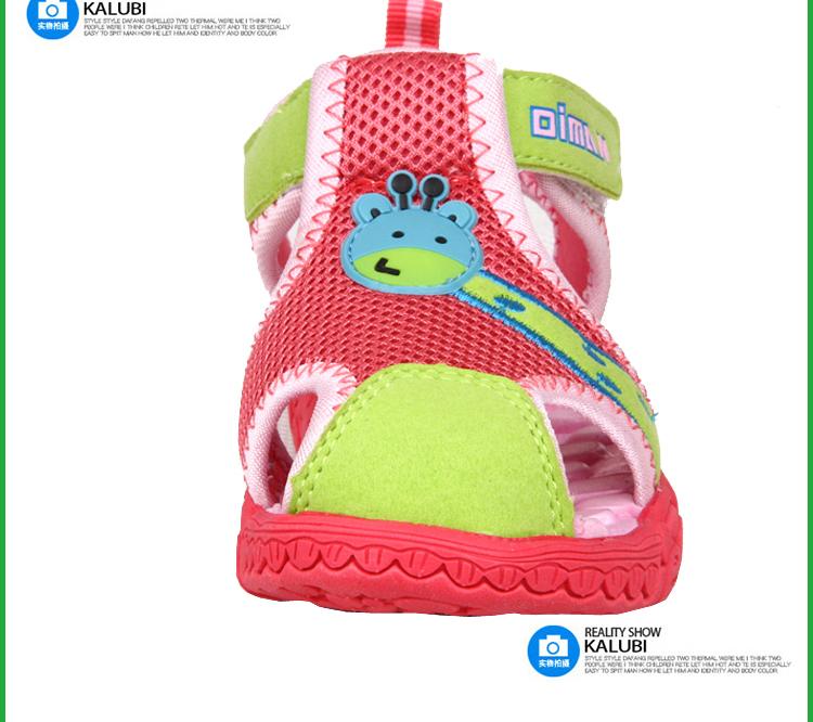 男童凉鞋宝宝儿童鞋女沙滩鞋男凉鞋韩版潮正品小童