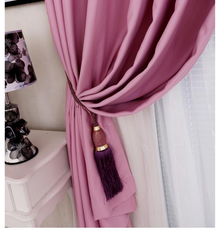 理想家 客厅卧室成品遮光窗帘 现代简约风格 多种款式规格