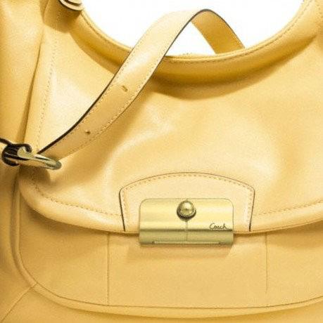 新款女士粉色/橘色/黄色纯皮单肩包