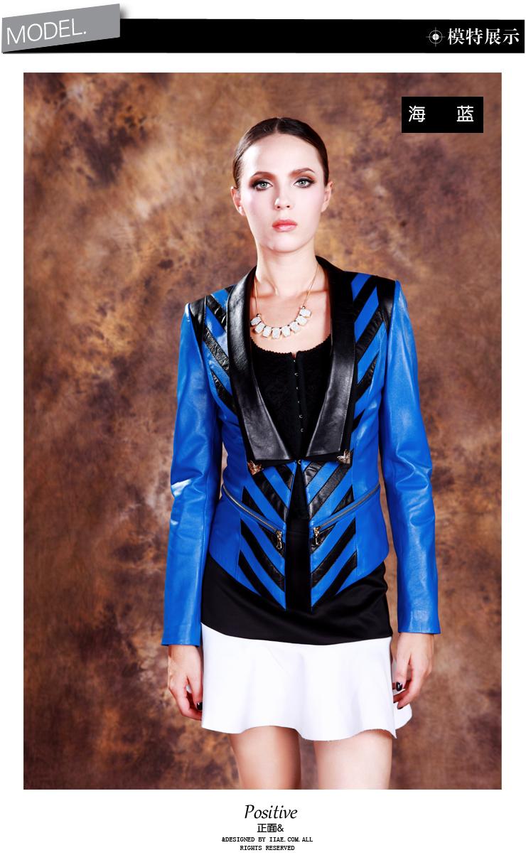 颜色:蓝色,天蓝色 衣长:常规款(51-65cm)