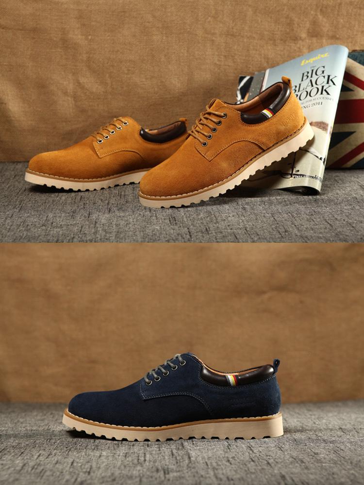 2014新款男休闲皮鞋