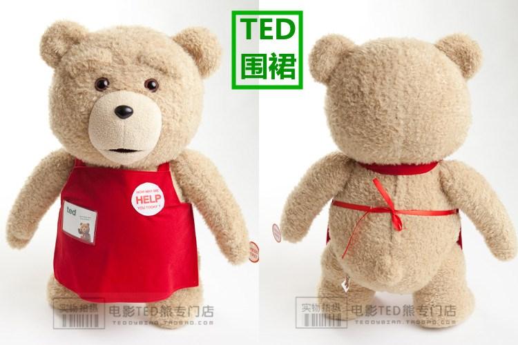 美国电影泰迪熊ted_美国电影泰迪熊ted熊麻吉萌宠贱熊正版正品泰
