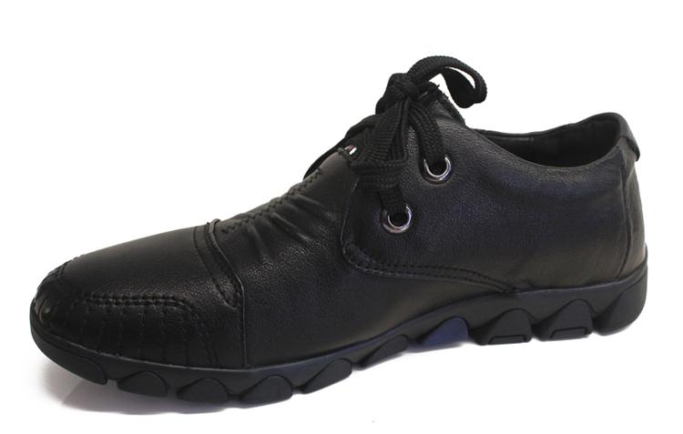 红豆(hodo)男式商务休闲皮鞋简约特小码潮流真皮男鞋