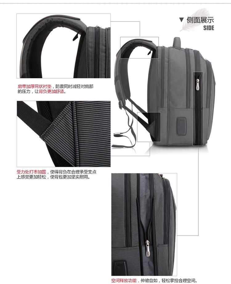 男士商务时尚休闲出差必备旅游背包电脑包