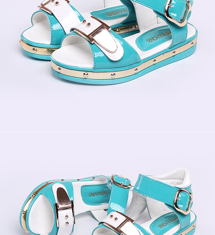 2014夏季新款童鞋女童凉鞋韩版公主单鞋凉鞋清爽儿童