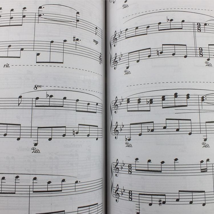 时光笔墨钢琴曲谱