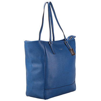 coach蓝色皮包