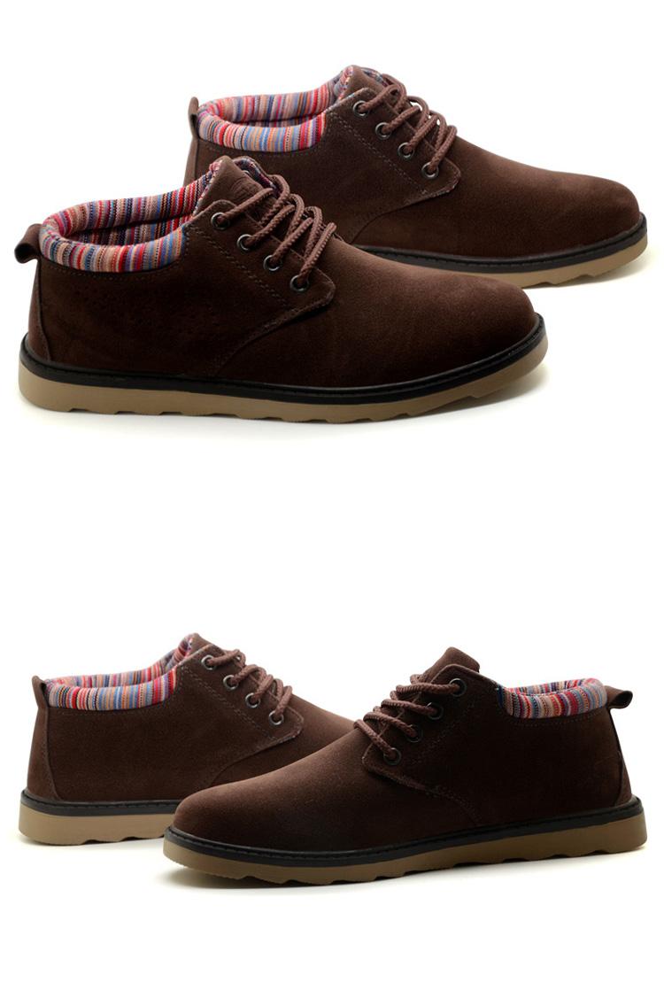 回力男鞋冬季新款低帮休闲鞋皮鞋工装鞋马丁鞋