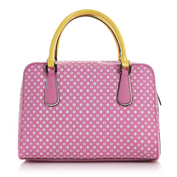 盖尔斯(guess)手提包 新品波点女士包包