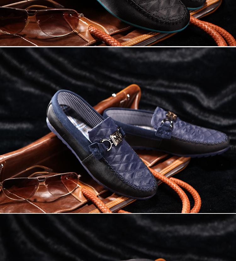 时尚男士豆豆鞋