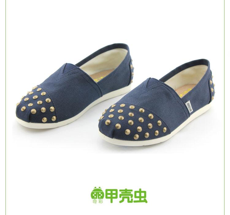 美国甲壳虫(jekecon)2014女鞋休闲布鞋女