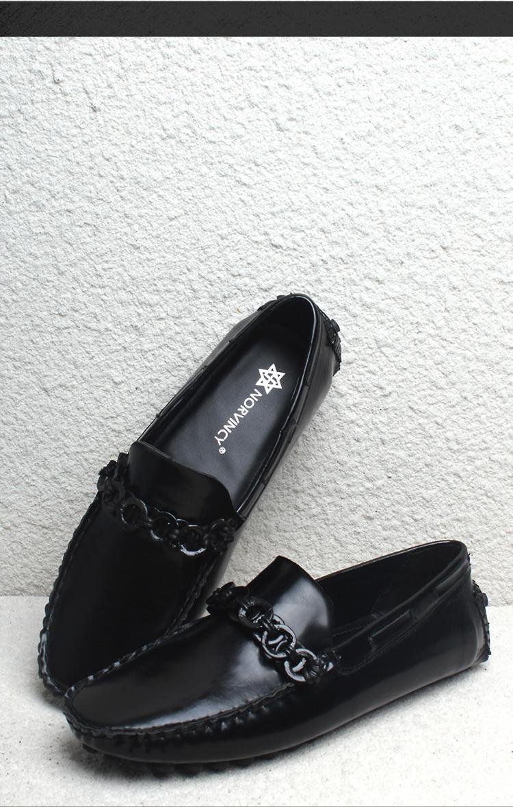 豆豆鞋男鞋真皮头层皮鞋低帮鞋驾车鞋帆船鞋16003