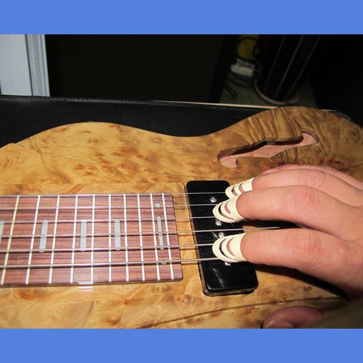 琵琶甲片-套假指甲 古筝琵琶月琴柳琴 特大号一套4个