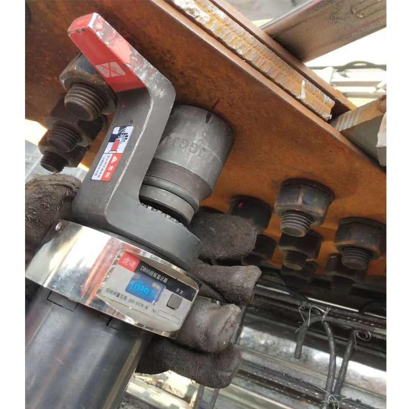 虎啸数显可调节扭矩扳手塔吊桥梁铁路高强度螺栓紧固装卸