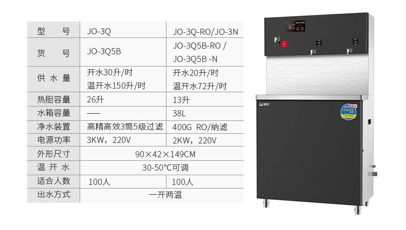 碧丽商用饮水机设备 JO-3Q5B-RO(图15)