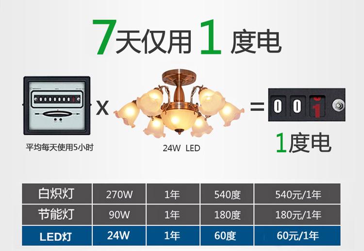 Đèn trùm  62 HF-6601 1504085475 - ảnh 5
