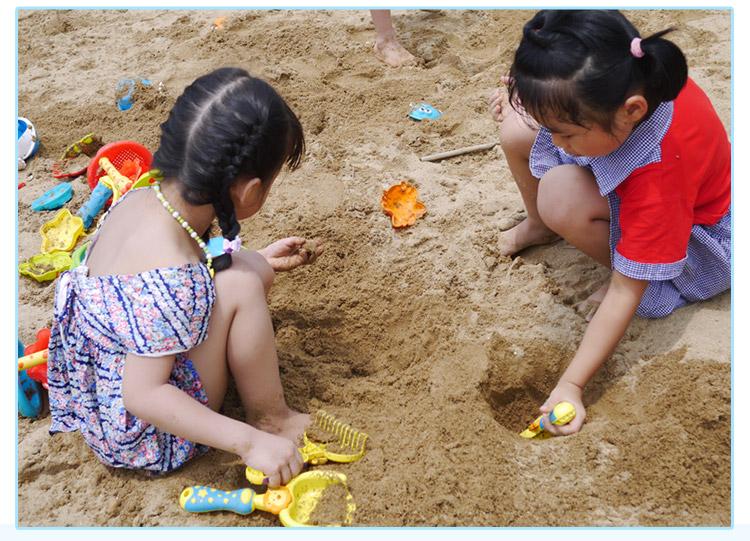 益之宝儿童沙滩玩具套装宝宝玩沙戏水挖沙子角色扮演