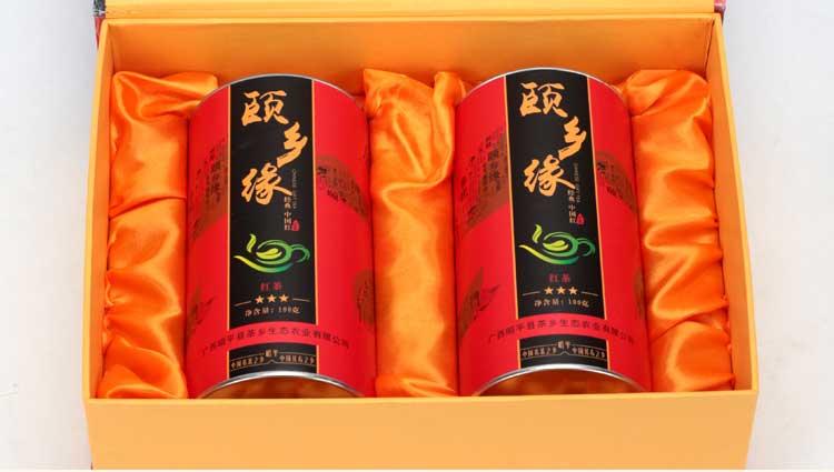 颐乡缘红茶 白露一级红茶小种红茶PK云南滇红金骏眉桐木关茶叶200g 红茶茶叶高档礼盒装