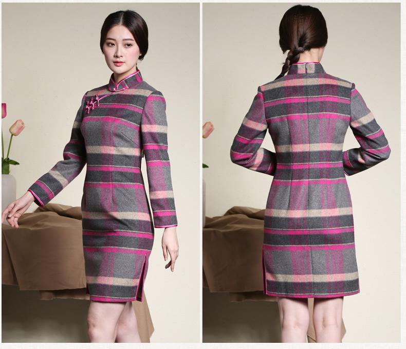 似玉生香--改良旗袍连衣裙(2) - 花雕美图苑 - 花雕美图苑