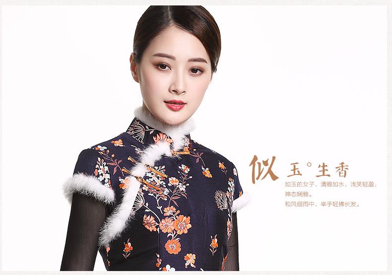 似玉生香--改良旗袍连衣裙(1) - 花雕美图苑 - 花雕美图苑