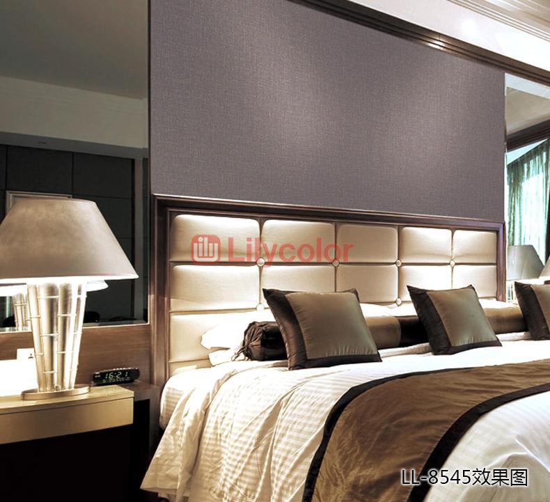 墙壁纸完了地面丽彩(lilycolor)丽彩现代简约仿系统纯壁纸素色日本装修新风如何安装材料织物图片